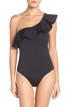 Ted Baker London Ruffle One-Piece Swimsuit available at #Nordstrom