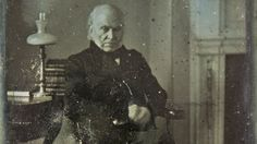 Lost for nearly a century and a half, a grainy black and white portrait of John Quincy Adams has reemerged—and it's now considered the oldest surviving original photograph of a US president in existence.