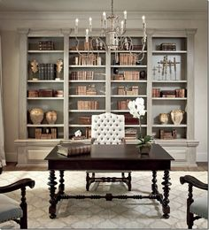 love the gray walls,,,,,,,,not cluttered!