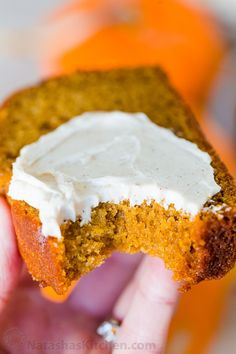 Pumpkin Bread has a soft and moist crumb with wonderful pumpkin flavor. This is our go-to easy pumpkin bread recipe and it's freezer friendly! #pumpkinbread #pumpkinbreadrecipe #easypumpkinbread #pumpkin #pumpkinrecipes #thanksgiving #dessert #bread