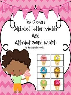 There are 2 activities in this pack.  Students match the upper case letter and lowercase letter for one activity and when they are ready, the other is matching a lowercase letter to a picture that begins with the sound the letter makes.  (Vowels are short sound and x is ending).