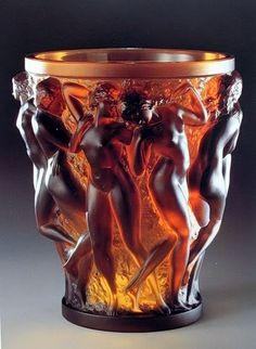 Lovely candle holder. I  Lalique.