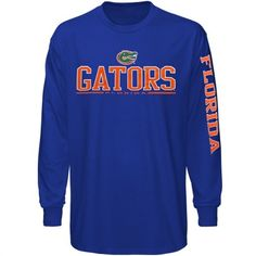 FOR ROSS - Florida Gators Runner Long Sleeve T-Shirt - Royal Blue - Size Med. (or other long sleeve t-shirts)