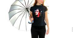 """Chemise """"Who Likes My T-Shirt?"""" Bibiana Grave Illustration"""