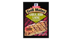 grill mates garlic herb wine marinade