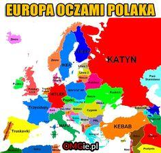 Where stories live Political Memes, Politics, European Map, Polish Memes, E Cards, Man Humor, Me On A Map, Good Mood, Blog Tips