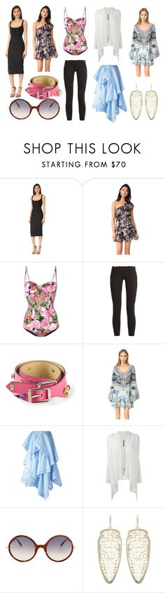 """""""Simplicity Of The Week"""" by donna-wang1 ❤ liked on Polyvore featuring Cinq à Sept, Yumi Kim, Dolce&Gabbana, Track & Bliss, Yves Saint Laurent, Camilla, J.W. Anderson, Rick Owens, Victoria Beckham and Kendra Scott"""