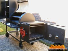 Custom made B-B-Q Pits by JJ
