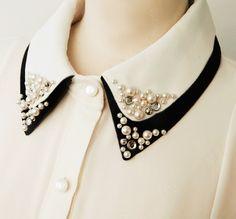 detalle elegante en el cuello