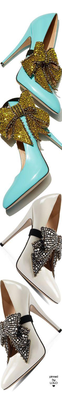 Gucci Elaisa Crystal Bow Pump Stilettos, High Heels, Gucci Fashion, Fashion Shoes, Gucci Ii, Shoe Boots, Shoes Heels, Turquoise Fashion, Embellished Shoes
