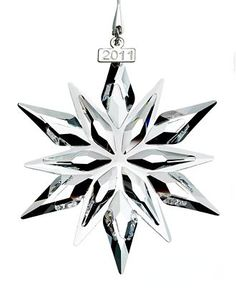 Swarovski Christmas Ornament, 2011 Annual Ornament