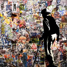 "Saatchi Art Artist Tehos Frederic CAMILLERI; Collage, ""The Other day SOLD"" #art"