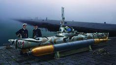 German mini-U-boat