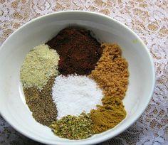 6 RUBS: •Basic BBQ Rub •BBQ Brisket Rub •Cajun Rub •Cajun Rub Recipe II •Fish Rub •Low Sodium Rub **Click Pic for Website.