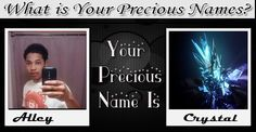 Check my results of Find Out Your precious name Facebook Fun App by clicking Visit Site button