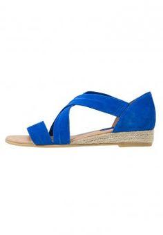 KIOMI - Sandaler m/ kilehæl - blue