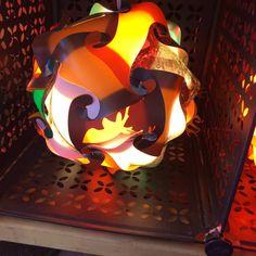 Deer Hunter Puzzle Lamp by GetLightMe on Etsy