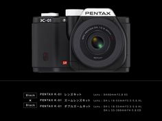 Another camera. well I know there are two opinions for this...PENTAX K-01.