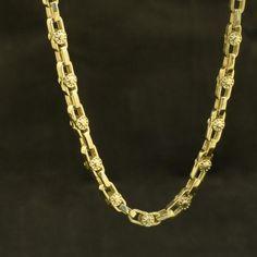 Цепь золотая модульная «Карусель» | Кустодия-творческая мастерская