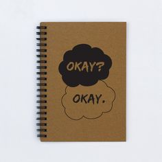 """Decorate notebooks with quotes from favorite books. This one is from """"The Fault in Our Stars"""""""