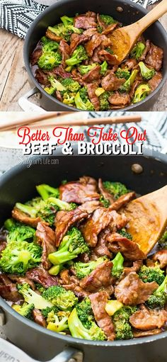 Better Than Take Out Beef and Broccoli, tender flank steak marinated and seared at a high temp, mixed with broccoli in a thick soy based gravy, like your favorite take out, but better!