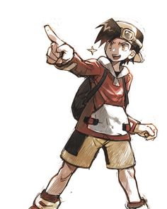 Pokemon Trainer Gold- from Gold, Silver, Crystal, HeartGold, SoulSilver