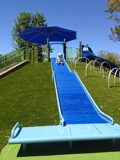 Silicon Valley Toddler: Playground Review: Magical Bridge (Palo Alto)