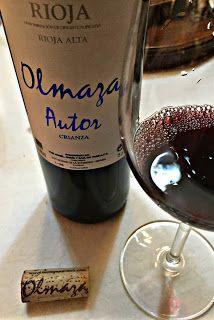 El Alma del Vino.: Bodegas Olmaza Autor Crianza 2013