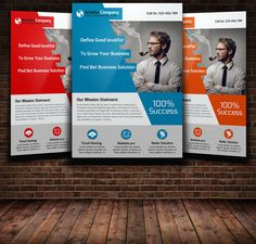 Creative Business Flyer Template by Leza on Creative Market