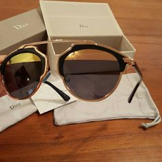 9dfbef64a3cc Dior So Real Dior So Real sunglasses in Black and Gold Dior Accessories  Glasses · Dior So Real Sunglasses · Tatyana NadyktoMy Posh Closet
