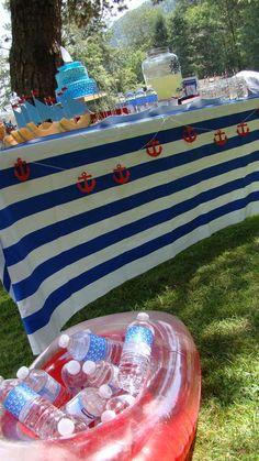 Nautical Birthday Party Ideas   Photo 10 of 29