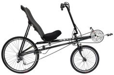 My recumbent bicycle. Very comfrotable! RANS V-Rex Recumbent Bikes from the Bicycle Man
