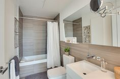20 Gorgeous Tiled Modern Bathrooms in Condominiums