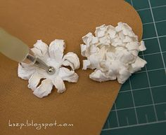 How to make a chrysanthemum - lesson