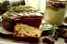 Backmischung - Rosmarin Tomaten Grillbrot - mit Ei