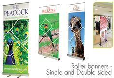 Indoor Exhibition Displays - Roller Banners Design from Parkes Print