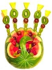 Fruit & Vegetable Carving - Ideas & Patterns for Watermelons, Pumpkins & Other Foods