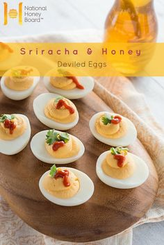 A flavorful twist on a classic spring side dish, our Sriracha and Honey Deviled Eggs add a little sweet heat to this culinary staple. Get the recipe and enjoy it all year long.