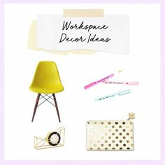 3 Ways to Refresh Your Home Office If you're looking for more decor ideas and ways to update your desk, follow us on Pinterest for tons of inspo and DIY ideas. Brit + Co may at times use affiliate links to promote products sold by others, but always offers genuine editorial recommendations. #homedecorideas