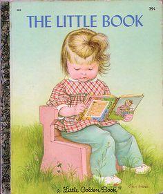 "The Little Book, Illustrations by Eloise Wilkin, 1969- Cover    ""The Little Book"", Little Golden Book, 1969Story by Sherl HorvathIllustrations by Eloise WilkinCover"