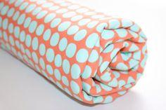 Minky Baby Blanket  Amy Butler Sunspots in by modernmadebaby, $38.50