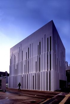 I LOVE this facade by Suppose Design Office. This clinic is located in Kure City, Hirosihima, Japan.