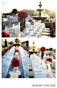 Chic Wedding Table Settings at Hummingbird Nest Ranch