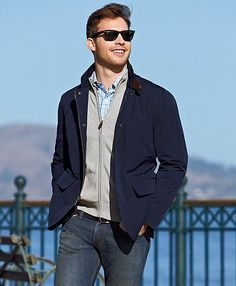 Carlton Hybrid Jacket | Brooks Brothers