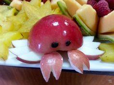 Mermaid Birthday Party  apple crab, healthy kids Blabla kids Harmony Birthday @Blair Beal Kids