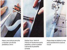 cómo se hace la costura francesa