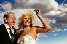 Las Vegas wedding desert