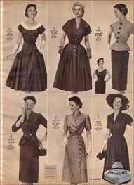 Vestidos de mujer 1950