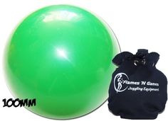 Practice Contact Juggling Ball 100mm (Green)