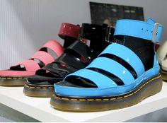 Doc Marten sandals.
